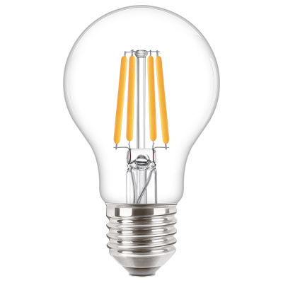 Lumiware bulb 60W E27 835 A60 CL D 1CT/6